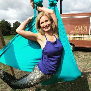 Nytårs Aerial Yoga med Sisse Siegumfeldt d. 29.12