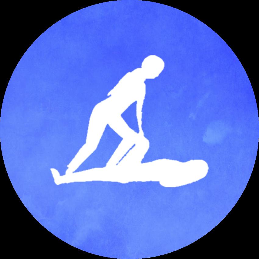 Yogalærer-ikon