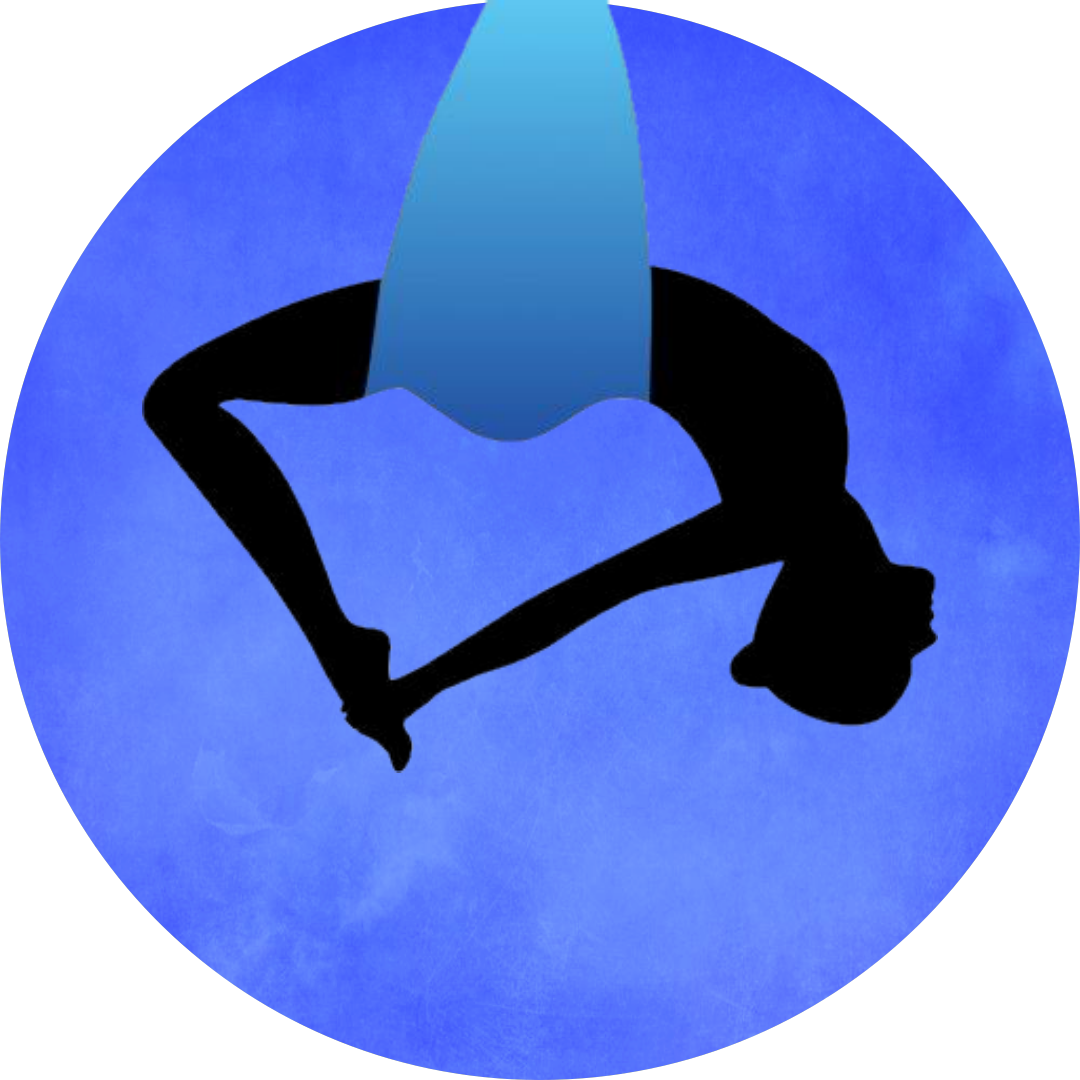 Aerial yoga-ikon